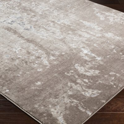 Ariel Beige Area Rug Rug Size: Rectangle 53 x 76
