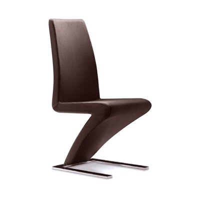 Simms Dining Side Chair Finish: Espresso