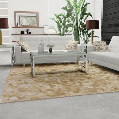Ayanna Neutral Area Rug Rug Size: 2 x 3