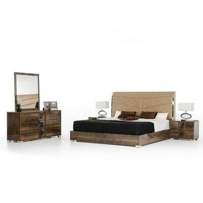 Camron Platform Customizable Bedroom Set
