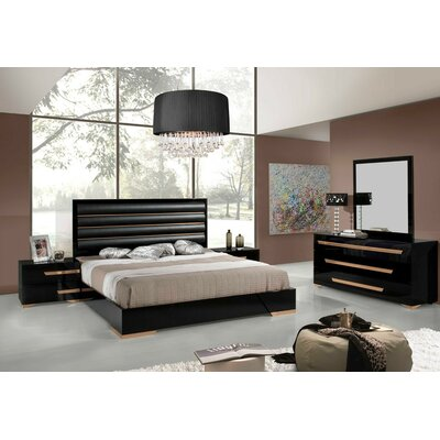 Ertha Panel Configurable Bedroom Set