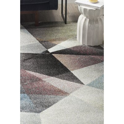 Craigwood Gray/Brown Area Rug Rug Size: Rectangle 27 x 5