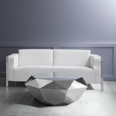 Beatty Sofa Upholstery: White