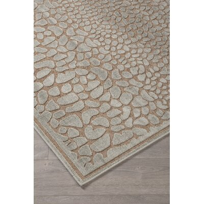 Cetus Ivory Area Rug Rug Size: 77 x 10