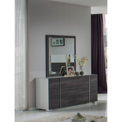 Compton Martin 3 Drawer Dresser with Mirror
