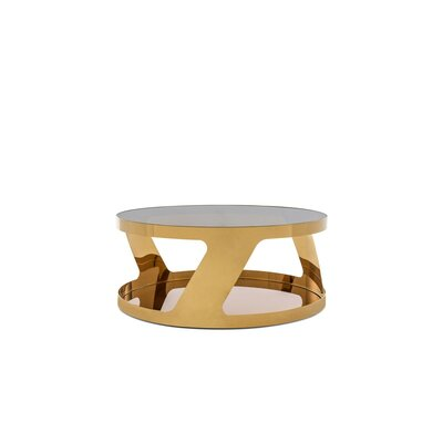 Camron Modern Round Coffee Table