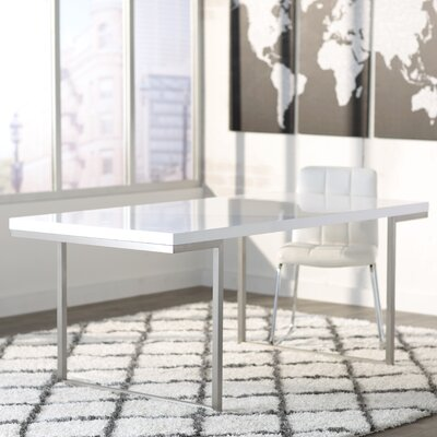 Charles Dining Table Finish: White