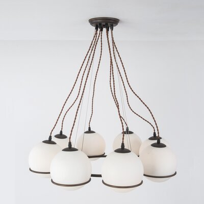Imel 8-Light Shaded Chandelier