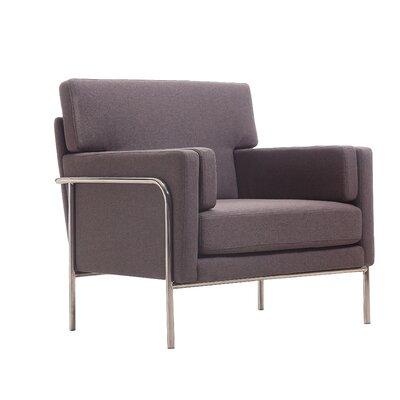 Demetra Armchair Color: Grey