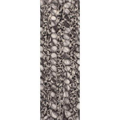 Metcalf Black / Gray Area Rug Rug Size: 2 x 3