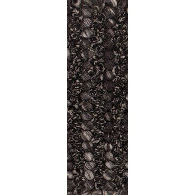 Metcalf Black/Gray Area Rug Rug Size: Round 79
