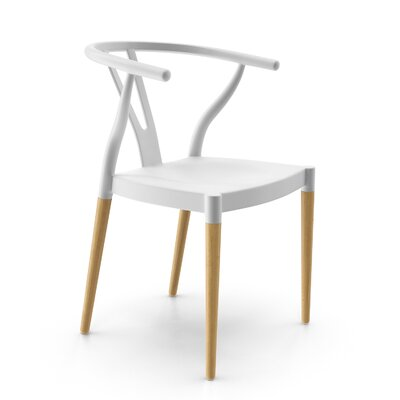 Mustang Side Chair Finish: White