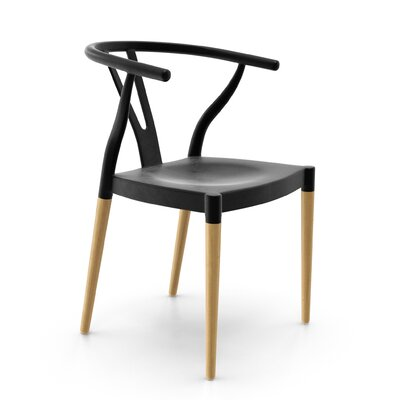 Mustang Side Chair Finish: Black