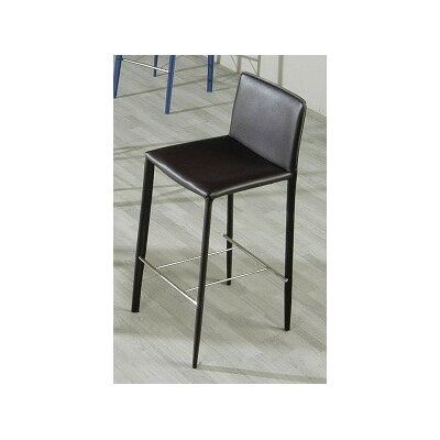 Calmar Bar Stool Color: Black