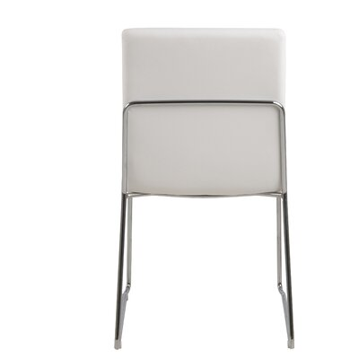 Strasburg Side Chair Upholstery: White