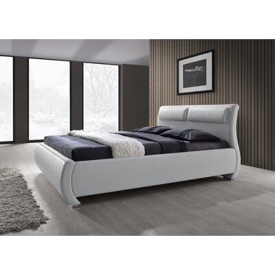 Burrier Double Upholstered Sleigh Bed Size: Queen