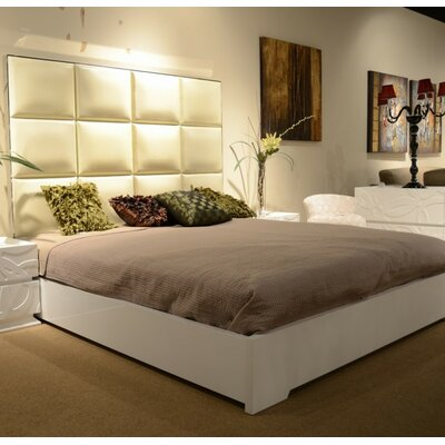 Franks King Upholstered Platform Bed