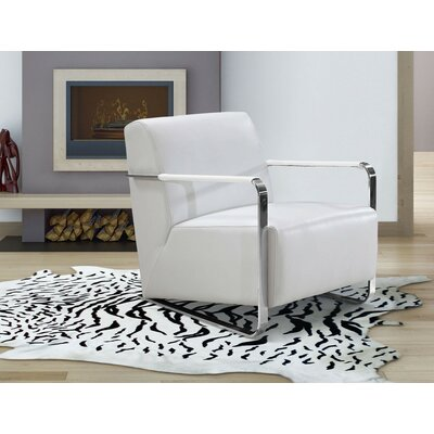 Northbridge Arm Chair Upholstery: White