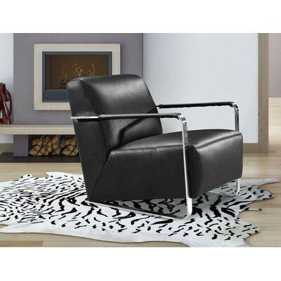 Coalpit Heath Armchair Upholstery: Black