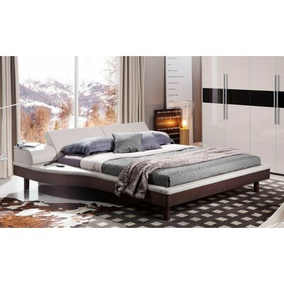 Raphael Queen Upholstered Storage Platform Bed Size: King