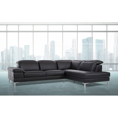 Alsatia Sectional Upholstery: Black