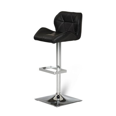 Clower Adjustable Seat Height Swivel Bar Stool