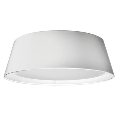 Lachesis 1-Light Flush Mount Finish: White