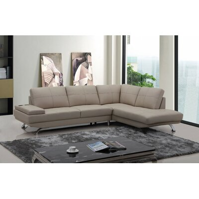 Alsatia Sectional Upholstery: Beige