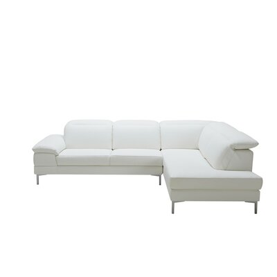 Alsatia Sectional Upholstery: White