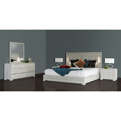 Febus Platform 3 Piece Bedroom Set Size: King