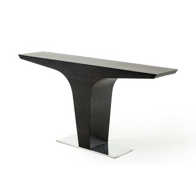 Belafonte Console Table Finish: Wenge