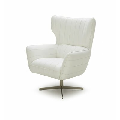 Cana Modern Armchair Color: White