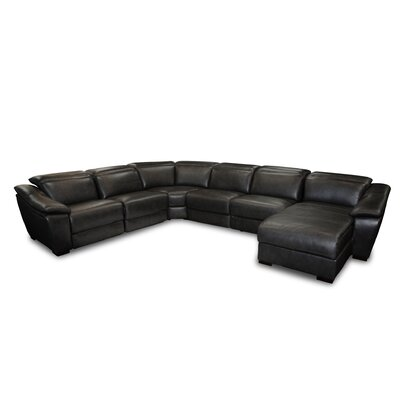 Cana U-Shaped Sectional Upholstery: Black