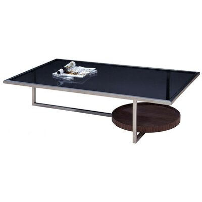 Camron Metal Base Coffee Table