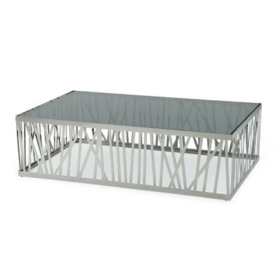 Camron Steel Base Coffee Table