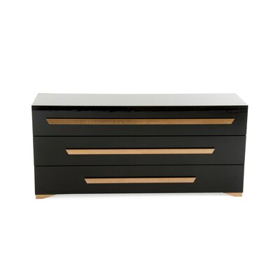 Camron Horizontal 3 Drawer Standard Dresser