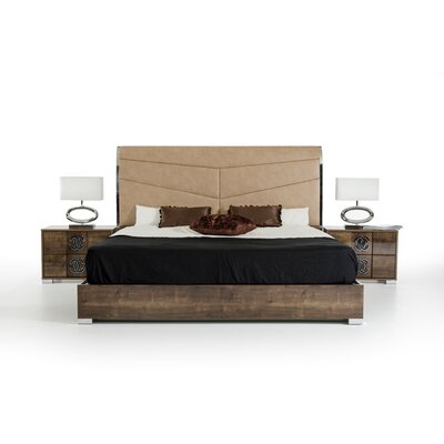 Marley Upholstered Panel Bed Size: Eastern King