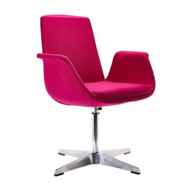 Barney Modern Arm Chair Upholstery: Fuchsia