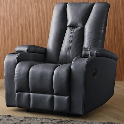 Giao Power Recliner Upholstery: Black