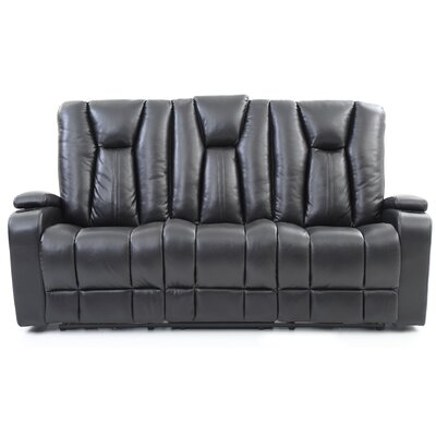 Giao Power Reclining Sofa Upholstery: Black