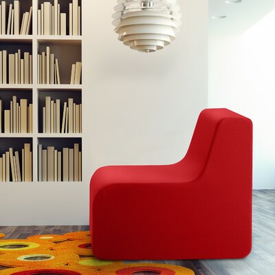 Baylee Classic Slipper Chair Color: Red