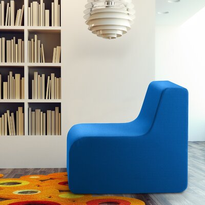 Baylee Classic Slipper Chair Color: Bright Blue