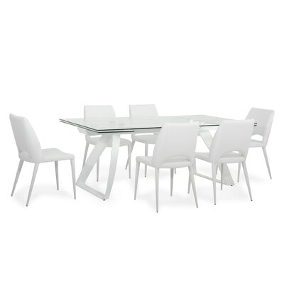 Calmar 7 Piece Dining Set