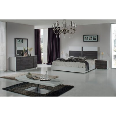 Kota Sorong Platform 5 Piece Bedroom Set Size: Queen