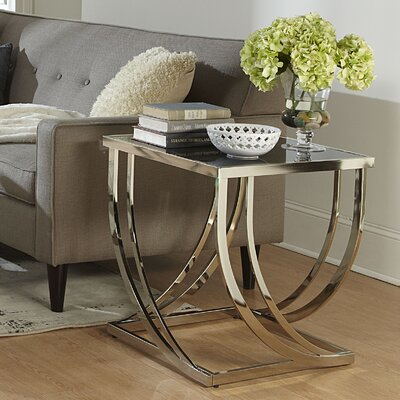 Lucio Arch Curved Sculptural End Table