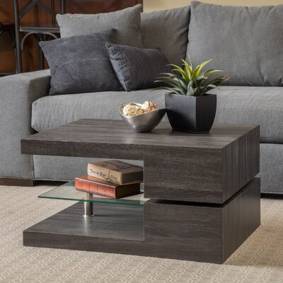 Delwood Coffee Table Finish: Black Oak