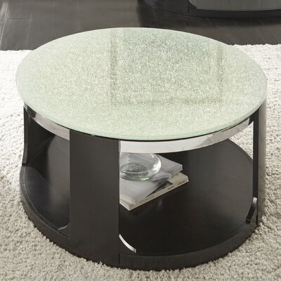 Charly Cracked Glass Coffee Table