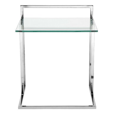 Cavallo End Table Color: Silver