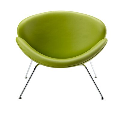 Carter Lounge Chair Upholstery: Green