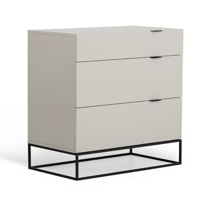Clower 3 Drawer Dresser